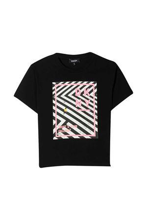 T-shirt nera Dkny Kids DKNY KIDS | 8 | D35R2709B