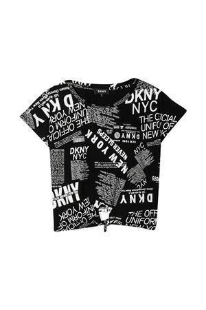 T-shirt nera Dkny Kids DKNY KIDS | 8 | D35R30M41