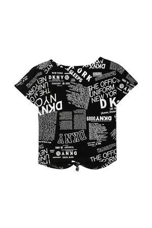 T-shirt nera teen Dkny Kids DKNY KIDS | 8 | D35R30M41T