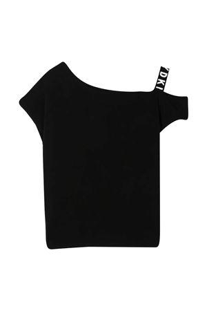 T-shirt nera Dkny Kids DKNY KIDS   8   D35R4409B