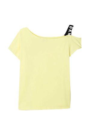 T-shirt gialla Dkny Kids DKNY KIDS | 8 | D35R4460B