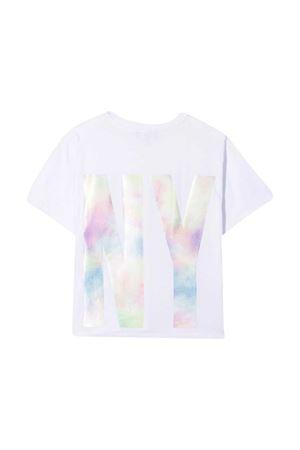 T-shirt bianca teen Dkny Kids DKNY KIDS | 8 | D35R5210BT