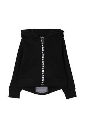 Dkny Kids black teen sweatshirt  DKNY KIDS | -108764232 | D35R5309BT