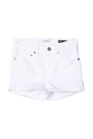White Dondup Kids denim shorts  DONDUP KIDS | 5 | DFBE220163WD014B015