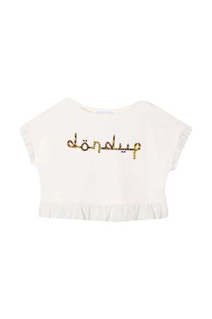Dondup Kids white crop top  DONDUP KIDS | -108764232 | DFFE84FE144WD0280012T