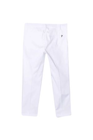 DONDUP kids white chino trousers DONDUP KIDS | 9 | DFPA60CE220WD016B016