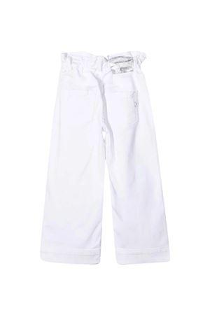 Dondup Kids white trousers  DONDUP KIDS | 9 | DFPA630161WD014B015