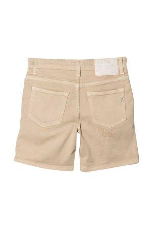 Dondup Kids beige bermuda shorts  DONDUP KIDS | 5 | DMBE220161WD0146000