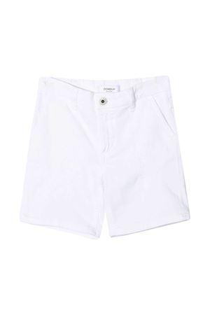 Dondup Kids white denim bermuda shorts DONDUP KIDS | 5 | DMBE220161WD014B015