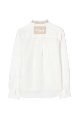 Dondup Kids white shirt  DONDUP KIDS | 5032334 | DMCA45CA250WD0270010