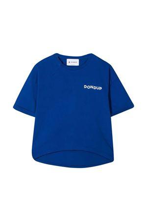 Dondup kids blue teen t-shirt  DONDUP KIDS | 8 | DMTS49JE138WD0244027T