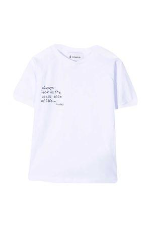 Dondup Kids white t-shirt  DONDUP KIDS | 8 | DMTS53JE138WD026B017