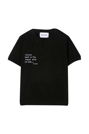 Dondup Kids black t-shirt DONDUP KIDS | 8 | DMTS53JE138WD026N007