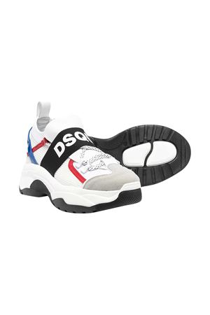 White sneakers Dsquared2 kids. DSQUARED2 KIDS | 12 | 670614