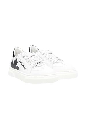 White sneakers teen Dsquared2 kids. DSQUARED2 KIDS | 12 | 670741T