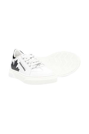 Sneakers bianche teen Dsquared2 kids. DSQUARED2 KIDS | 12 | 670741T