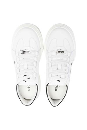 Sneakers bianche Dsquared2 kids. DSQUARED2 KIDS | 12 | 670741