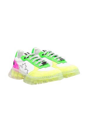 Sneakers with color-block design teen Dsquared2 kids. DSQUARED2 KIDS | 12 | 670881T