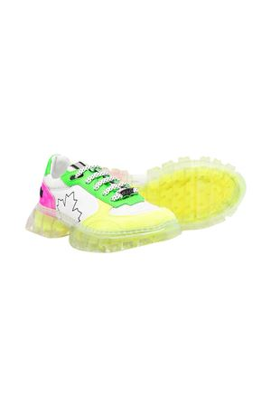 Sneakers con design color-block teen Dsquared2 kids DSQUARED2 KIDS | 12 | 670881T