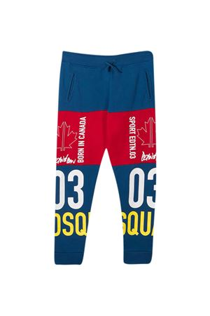 Blue Dsquared2 Kids design joggers  DSQUARED2 KIDS | 9 | DQ0008D004LDQ868