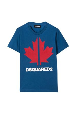 Dsquared2 Kids blue teen t-shirt  DSQUARED2 KIDS | 8 | DQ0028D004GDQ868T