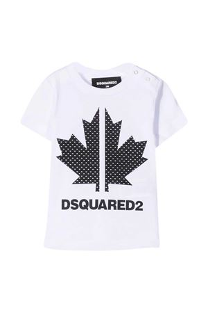 T-shirt bianca Dsquared2 Kids DSQUARED2 KIDS | 8 | DQ0029D004GDQ100