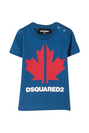 T-shirt blu Dsquared2 Kids DSQUARED2 KIDS | 8 | DQ0029D004GDQ868