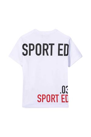 Dsquared2 Kids white teen t-shirt  DSQUARED2 KIDS | 8 | DQ0030D00MMDQ100T