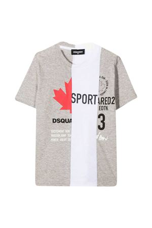 Dsquared2 Kids gray teen t-shirt  DSQUARED2 KIDS | 8 | DQ0031D004IDQ911T