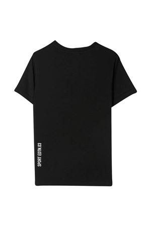 Black teen t-shirt Dsquared2 Kids DSQUARED2 KIDS | 8 | DQ0036D00XMDQ900T