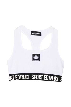 White teen crop top Dsquared kids  DSQUARED2 KIDS | 8 | DQ0037D00XNDQ100T