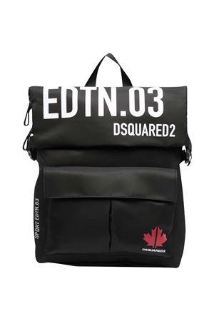 Zaino nero Sports Edtn. 03 Dsquared2 Kids DSQUARED2 KIDS   31   DQ0043D004QDQ900