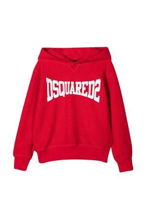 Dsquared2 Kids red sweatshirt  DSQUARED2 KIDS | -108764232 | DQ0071D005UDQ405