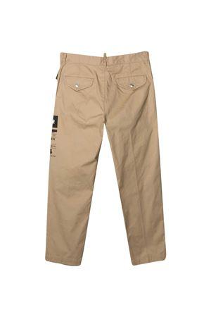 Beige trousers Dsquared2 kids  DSQUARED2 KIDS   9   DQ0076D005SDQ710