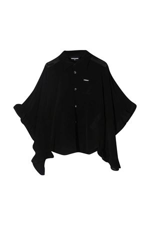 Black blouse teen Dsquared2 Kids DSQUARED2 KIDS | 5032334 | DQ0093D005MDQ900T