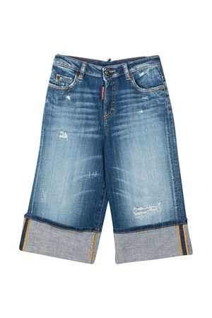 Jeans crop teen Dsquared2 Kids DSQUARED2 KIDS | 9 | DQ0099D005HDQ01T