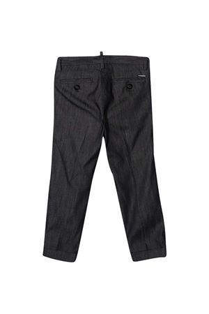 Pantaloni neri teen Dsquared2 Kids DSQUARED2 KIDS | 9 | DQ0117D005QDQ01T