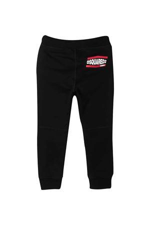 Pantaloni neri Dsquared2 Kids DSQUARED2 KIDS | 9 | DQ0118D004LDQ900