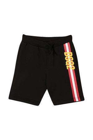 Dsquared2 Kids black striped shorts DSQUARED2 KIDS | 30 | DQ0121D00J7DQ900