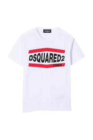 White teen t-shirt Dsquared2 Kids  DSQUARED2 KIDS | 7 | DQ0150D002FDQ100T