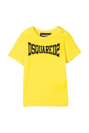 T-shirt gialla Dsquared2 Kids DSQUARED2 KIDS | 7 | DQ0168D00MVDQ205
