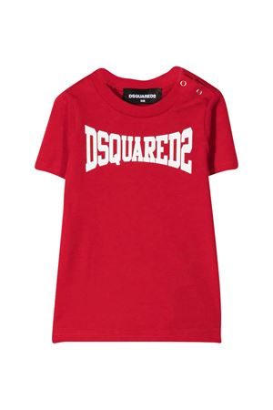 Dsquared2 Kids red t-shirt  DSQUARED2 KIDS | 7 | DQ0168D00MVDQ405