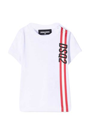 T-shirt bianca Dsquared2 Kids DSQUARED2 KIDS | 7 | DQ0174D00MMDQ100