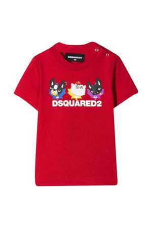 T-shirt con stampa Dsquared2 kids DSQUARED2 KIDS | 7 | DQ0177D00MMDQ405