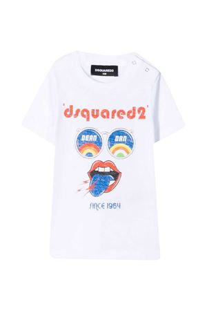 T-shirt con stampa Dsquared2 kids DSQUARED2 KIDS | 7 | DQ0178D00XMDQ100