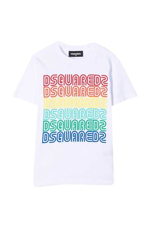 T-shirt teen con stampa Dsquared2 kids DSQUARED2 KIDS   7   DQ0189D004GDQ100T