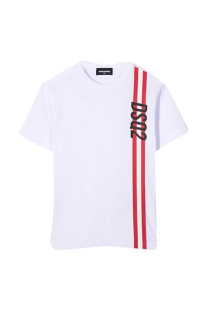 T-shirt bianca teen Dsquared2 Kids DSQUARED2 KIDS | 7 | DQ0192D00MQDQ100T