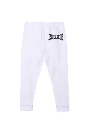 White sports trousers Dsquared2 Kids  DSQUARED2 KIDS   9   DQ0212D002YDQ100