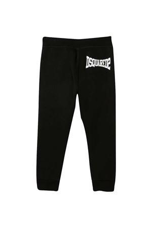 Sporty black trousers teen Dsquared2 Kids  DSQUARED2 KIDS   9   DQ0212D002YDQ900T