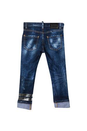 Jeans blu Dsquared2 kids con effetto vissuto DSQUARED2 KIDS | 9 | DQ0225D005LDQ01